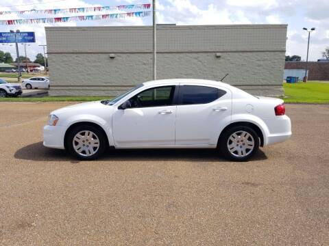 2013 Dodge Avenger for sale at Frontline Auto Sales in Martin TN
