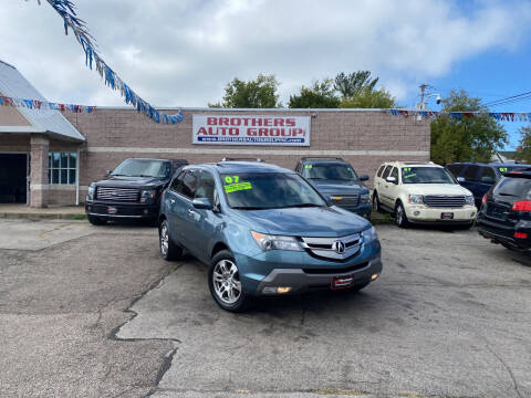 2007 Acura MDX for sale at Brothers Auto Group in Youngstown OH