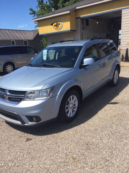 2013 Dodge Journey for sale at Hines Auto Sales in Marlette MI
