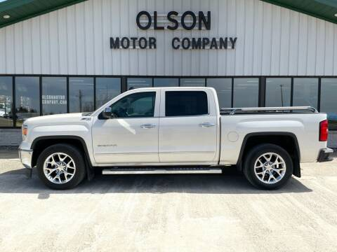 2014 GMC Sierra 1500 for sale at Olson Motor Company in Morris MN