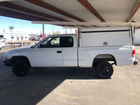 2002 Dodge Dakota for sale at Kann Enterprises Inc. in Lovington NM