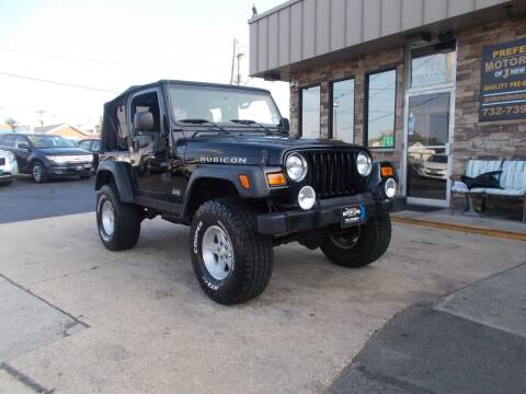 2004 Jeep Wrangler for sale at Preferred Motor Cars of New Jersey in Keyport NJ