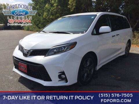 2019 Toyota Sienna for sale at Fort Dodge Ford Lincoln Toyota in Fort Dodge IA
