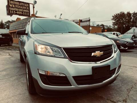 2017 Chevrolet Traverse for sale at 3 Brothers Auto Sales Inc in Detroit MI
