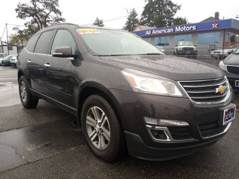 2017 Chevrolet Traverse for sale at All American Motors in Tacoma WA