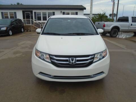 2015 Honda Odyssey for sale at Zoom Auto Sales in Oklahoma City OK