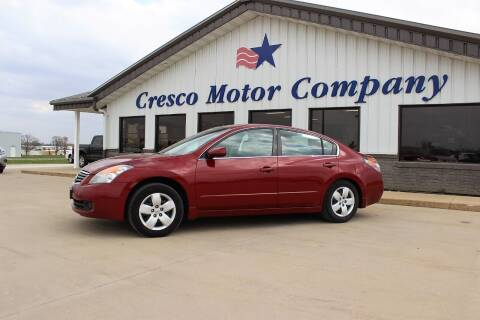 2008 Nissan Altima for sale at Cresco Motor Company in Cresco IA