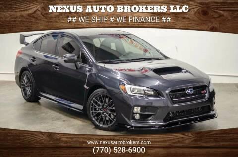 2017 Subaru WRX for sale at Nexus Auto Brokers LLC in Marietta GA