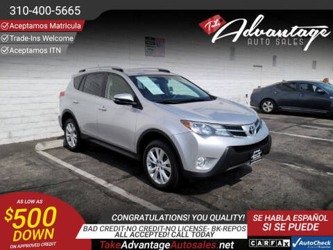 2014 Toyota RAV4 for sale at ADVANTAGE AUTO SALES INC in Bell CA