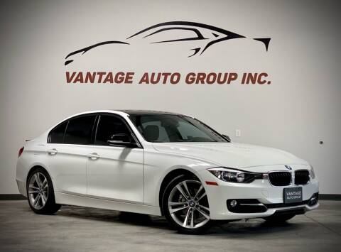 2015 BMW 3 Series for sale at Vantage Auto Group Inc in Fresno CA