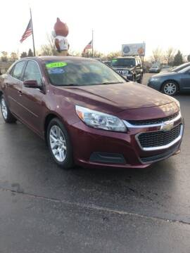 2015 Chevrolet Malibu for sale at Newcombs Auto Sales in Auburn Hills MI
