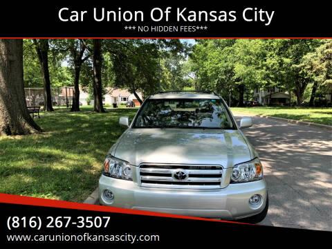 2007 Toyota Highlander for sale at Car Union Of Kansas City in Kansas City MO