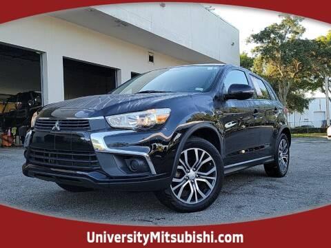 2016 Mitsubishi Outlander Sport for sale at University Mitsubishi in Davie FL