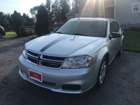2011 Dodge Avenger for sale at FUSION AUTO SALES in Spencerport NY