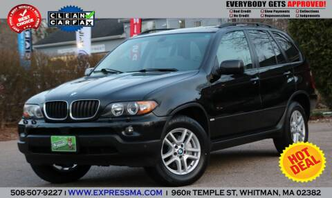 2006 BMW X5 for sale at Auto Sales Express in Whitman MA