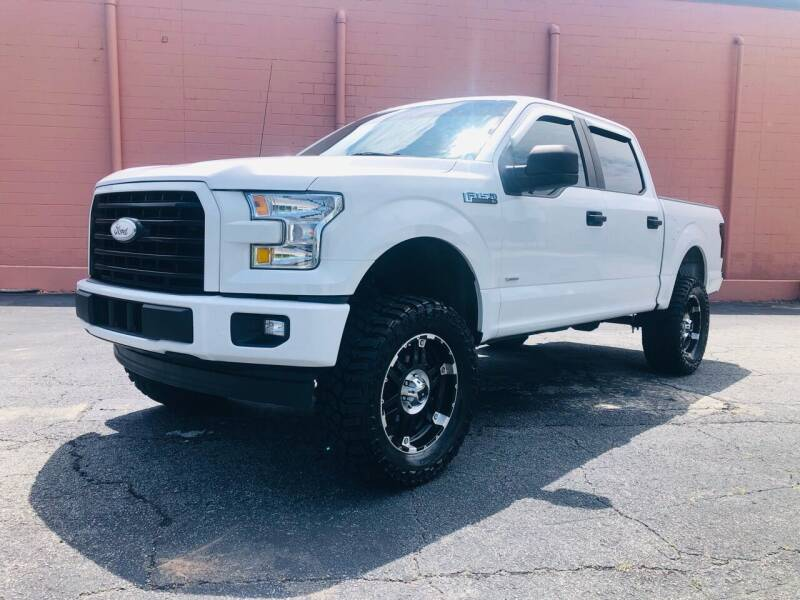 2017 Ford F-150 for sale at DUNCAN AUTO SALES, INC in Cartersville GA