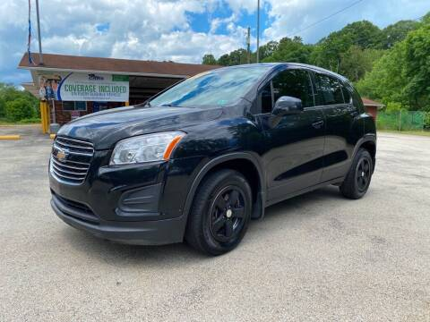 2016 Chevrolet Trax for sale at Elite Motors in Uniontown PA