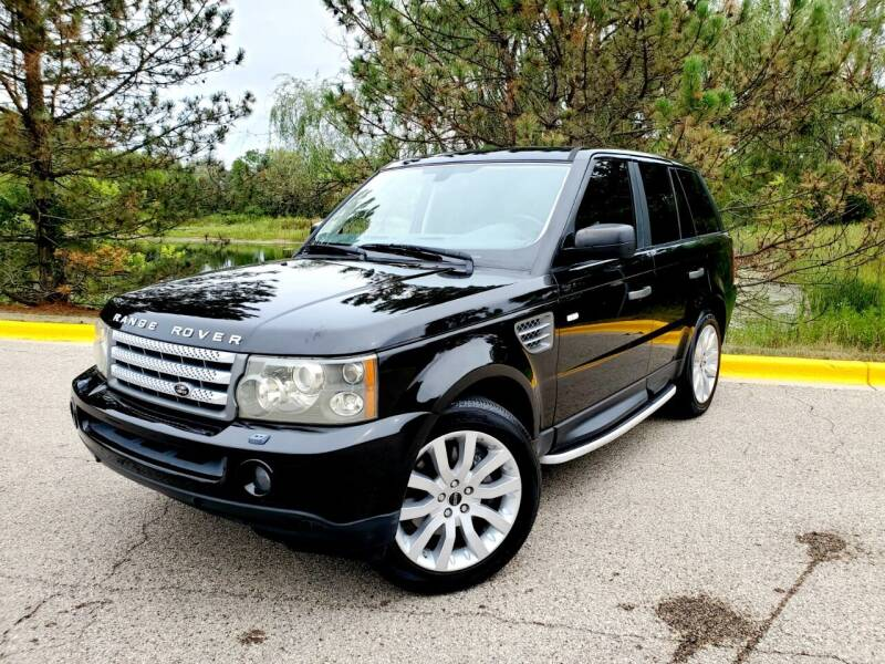 2008 Land Rover Range Rover Sport for sale at Excalibur Auto Sales in Palatine IL