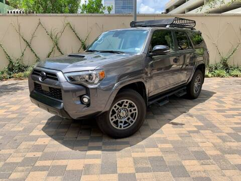 2021 Toyota 4Runner for sale at ROGERS MOTORCARS in Houston TX