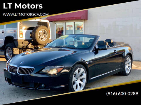 2006 BMW 6 Series for sale at LT Motors in Rancho Cordova CA