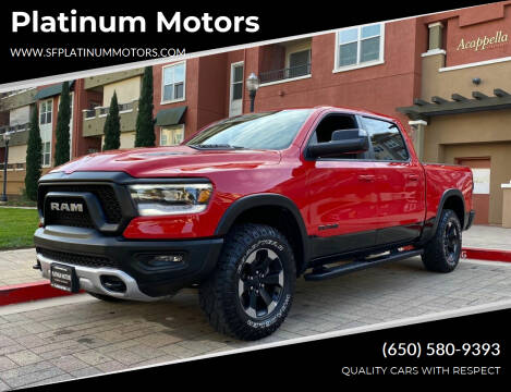 2020 RAM Ram Pickup 1500 for sale at Platinum Motors in San Bruno CA