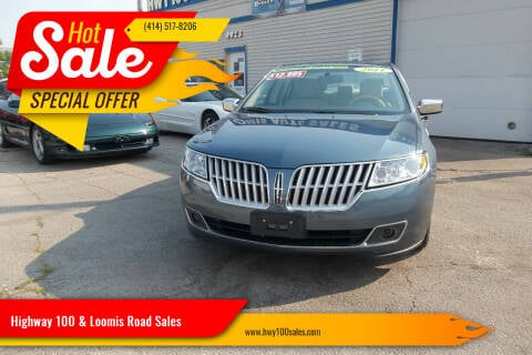 2011 Lincoln MKZ Hybrid for sale at Highway 100 & Loomis Road Sales in Franklin WI
