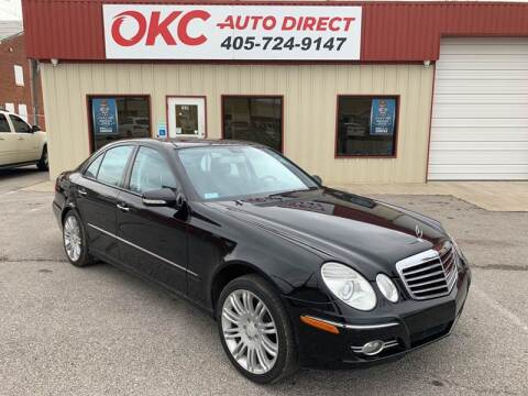 2008 Mercedes-Benz E-Class for sale at OKC Auto Direct in Oklahoma City OK