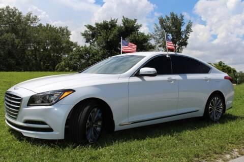 2016 Hyundai Genesis for sale at CHASE MOTOR in Miami FL