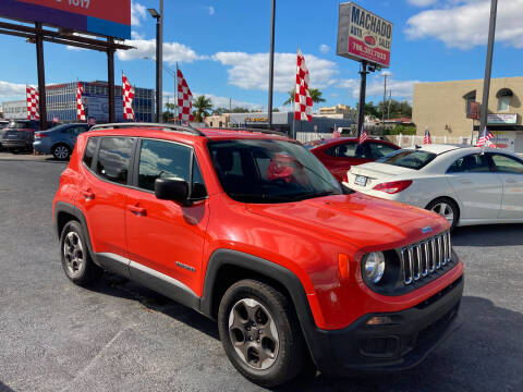 2017 Jeep Renegade for sale at MACHADO AUTO SALES in Miami FL