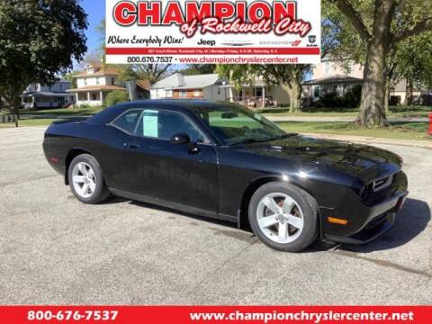 2013 Dodge Challenger for sale at CHAMPION CHRYSLER CENTER in Rockwell City IA