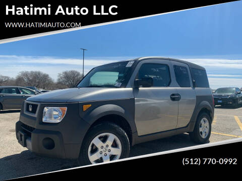 2003 Honda Element for sale at Hatimi Auto LLC in Buda TX