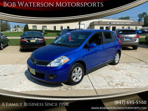 2009 Nissan Versa for sale at Bob Waterson Motorsports in South Elgin IL