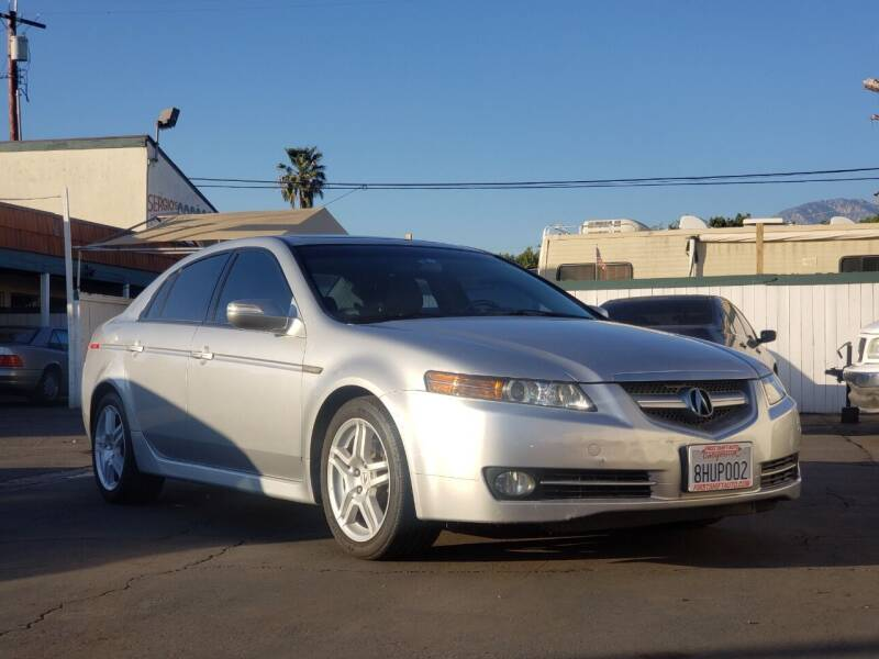 2008 Acura TL for sale at First Shift Auto in Ontario CA