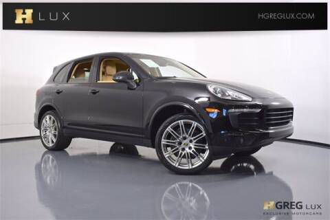 2017 Porsche Cayenne for sale at HGREG LUX EXCLUSIVE MOTORCARS in Pompano Beach FL