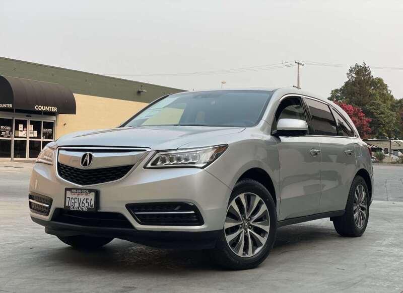 2015 Acura MDX for sale at ELITE AUTOS in San Jose CA