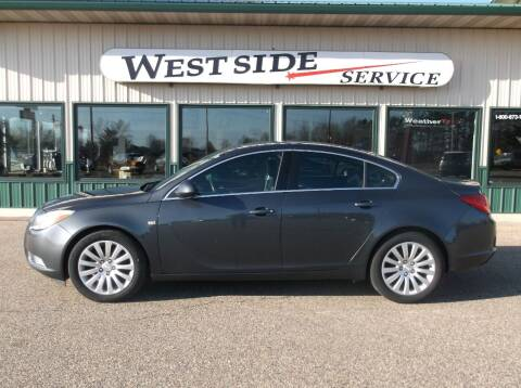 2011 Buick Regal for sale at West Side Service in Auburndale WI