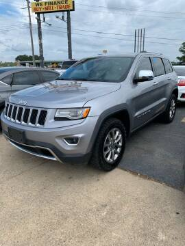 2015 Jeep Grand Cherokee for sale at BRYANT AUTO SALES in Bryant AR
