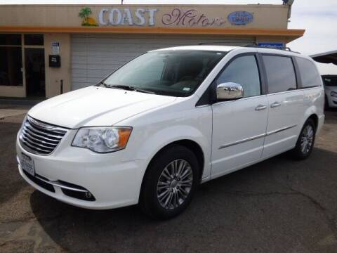 2013 Chrysler Town and Country for sale at Coast Motors in Arroyo Grande CA