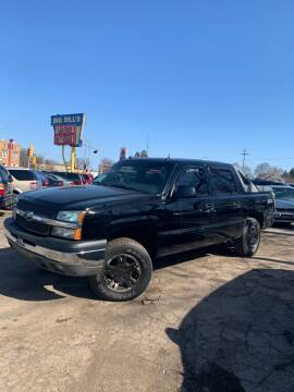 2004 Chevrolet Avalanche for sale at Big Bills in Milwaukee WI