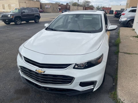 2018 Chevrolet Malibu for sale at National Auto Sales Inc. - Hazel Park Lot in Hazel Park MI