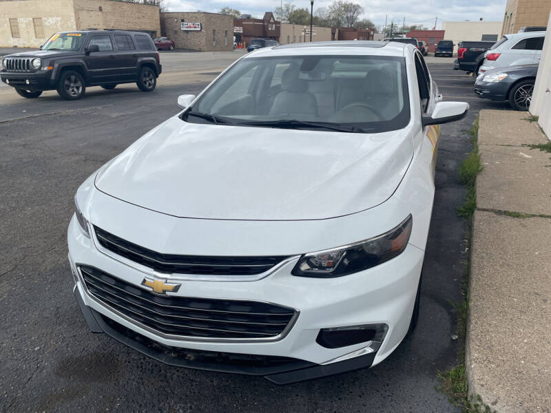 2018 Chevrolet Malibu for sale at National Auto Sales Inc. - Hazel Park Lot in Hazel Park MI