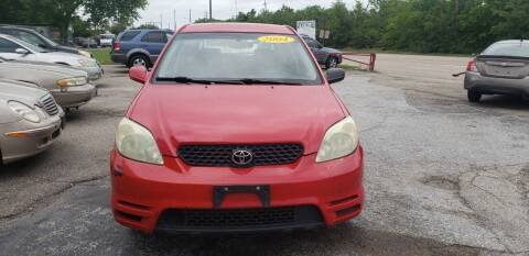 2004 Toyota Matrix for sale at Anthony's Auto Sales of Texas, LLC in La Porte TX