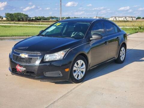 2014 Chevrolet Cruze for sale at Chihuahua Auto Sales in Perryton TX
