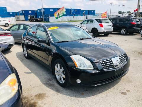 2005 Nissan Maxima for sale at I57 Group Auto Sales in Country Club Hills IL