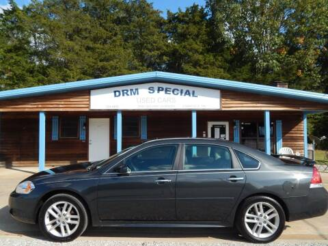 2013 Chevrolet Impala for sale at DRM Special Used Cars in Starkville MS