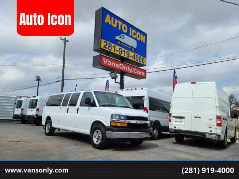 2017 Chevrolet Express Passenger for sale at Auto Icon in Houston TX