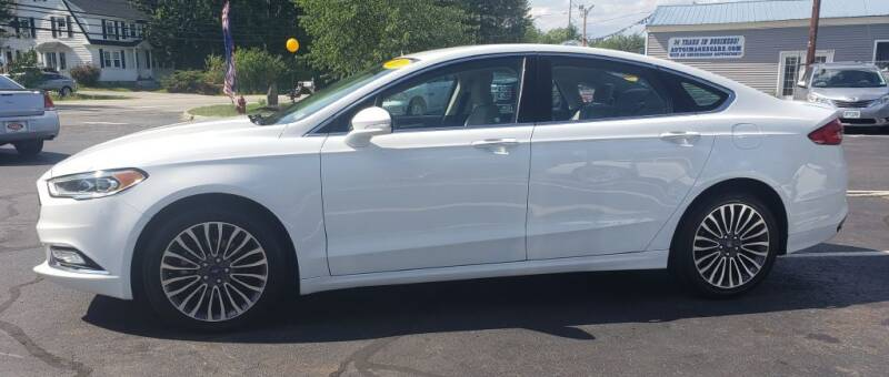 2018 Ford Fusion for sale at Healey Auto in Rochester NH