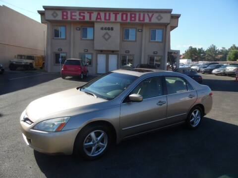 2003 Honda Accord for sale at Best Auto Buy in Las Vegas NV
