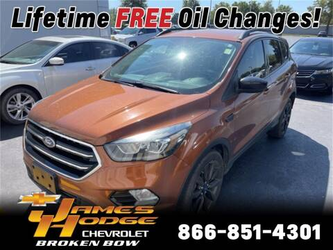 2017 Ford Escape for sale at James Hodge Chevrolet of Broken Bow in Broken Bow OK