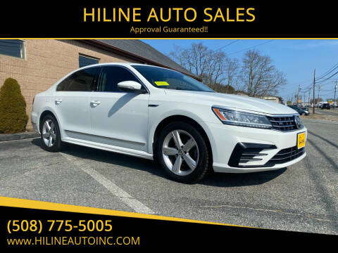 2017 Volkswagen Passat for sale at HILINE AUTO SALES in Hyannis MA